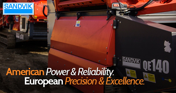 Sandvik-equipment