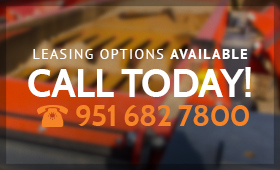 Leasing Options Available! Call 951 682 7800 Today!